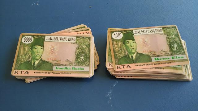 Member Card Jual Beli Uang Kuno