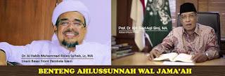 Kang Said dan Habib Rizieq Dua Benteng Aswaja