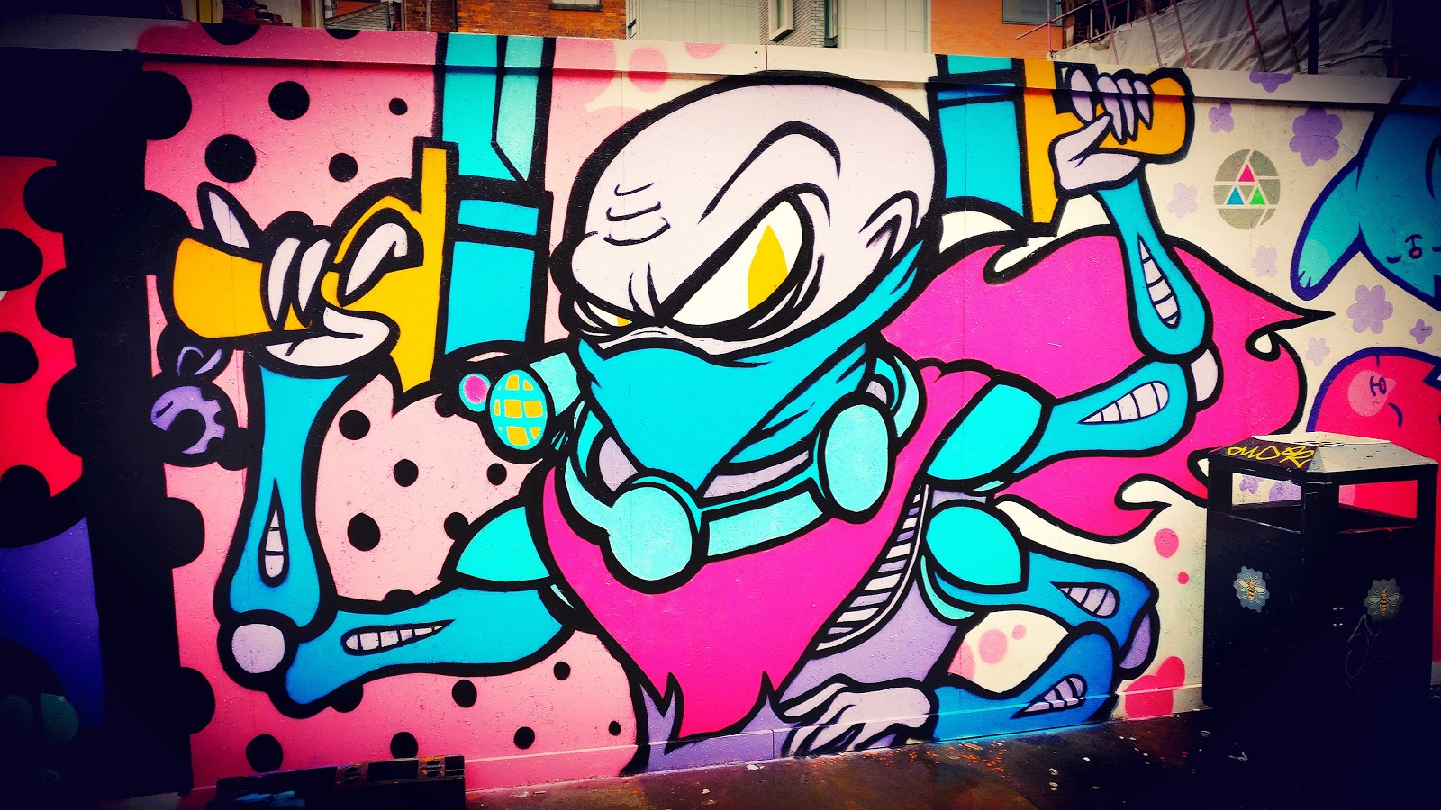 Genestealer Cult Graffiti Wargaming Hub