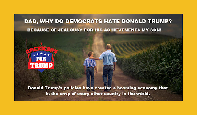 Memes: DAD, WHY DO DEMOCRATS HATE DONALD TRUMP?