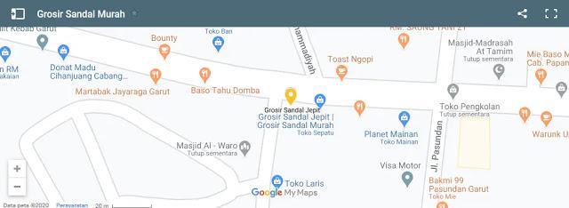 Lokasi Pabrik Sandal Murah