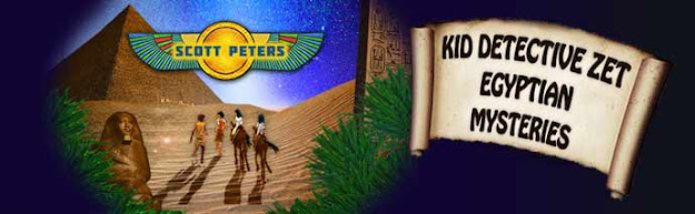 kids mystery, Scott Peters, middle grade mystery, kids ancient Egypt books