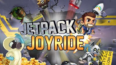 لعبة المغامرات Jetpack Joyride مهكرة للأندرويد - تحميل مباشر