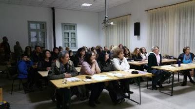 Το Σάββατο 26 Μαρτίου 2016, από τις 19:00 έως τις 21:30, πραγματοποιήθηκε στον χώρο του Καπνικού Σταθμού Κατερίνης το σεμινάριο ορθής χρήσης της ελληνικής γλώσσας.