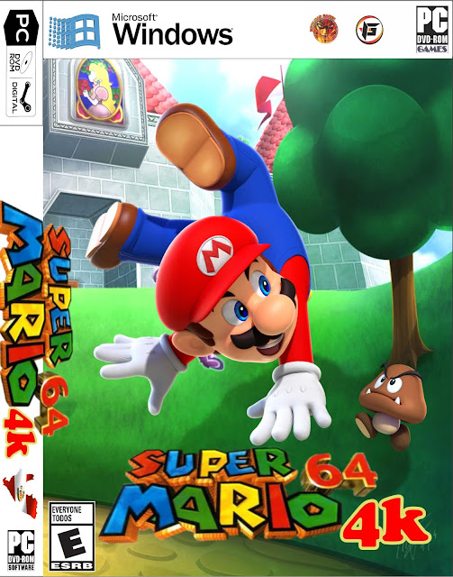 Super Mario 64 4K Remastered Full PC