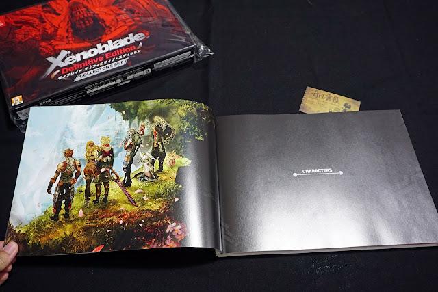 DSC01934 - 異域神劍 異度神劍 終極版 遊戲限定版畫集  ゼノブレイド ディフィニティブ・エディション / Xenoblade Definitive Edition / Xenoblade Chronicles: Definitive Edition