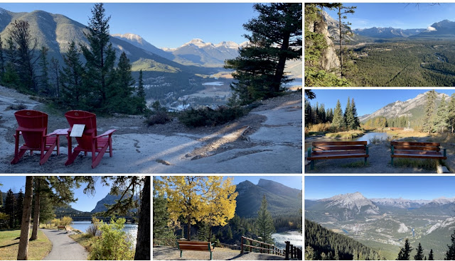 Banff Town, Sulphur Mountain, Tunnel Mountain, Bow River, National Park, Canada