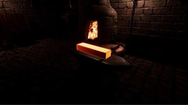 Fantasy Blacksmith a game in the genre of a simulator that will fully allow you to feel like a blacksmith.