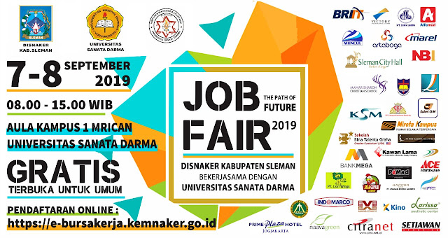 Job Fari Sleman Terbaru