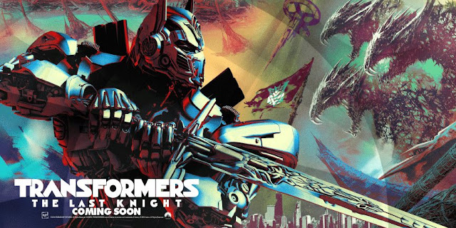 Primer póster de 'Transformers: The Last Knight'