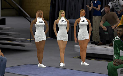 NBA 2K13 Utah Jazz Enhancec Cheerleaders