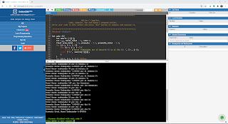 como compilar en linea lenguaje C