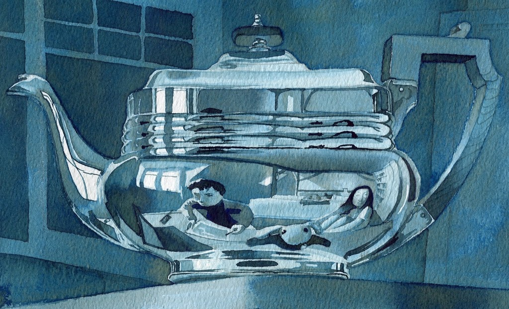 06-Granny-s-Teapot-Rupert-Taylor-Blue-Architectural-Urban-Drawings-www-designstack-co