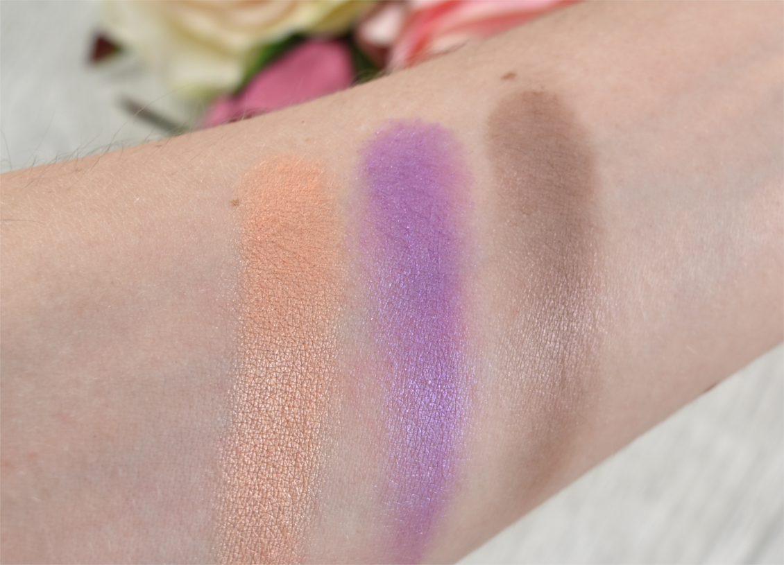 p2 cosmetics - Beauty VOYAGE Limited Edition - moroccan love eye shadow swatches