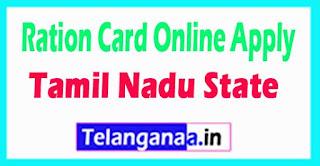 Tamil Nadu Ration Card Online Apply Duplicate Tatkal Ration Cards Apply