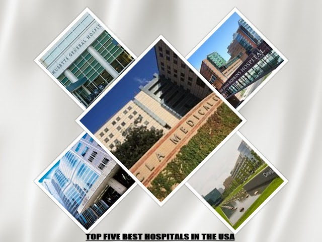 TOP FIVE BEST HOSPITALS IN THE USA