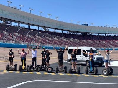 Ride A Segway Around ISM Raceway #NASCAR