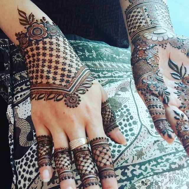 latest arabic bridal mehndi designs for full hands