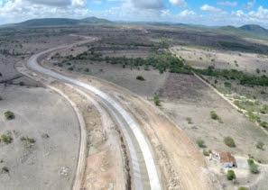 Obras do Canal do Sertão avançam entre Senador Rui Palmeira e São José da Tapera