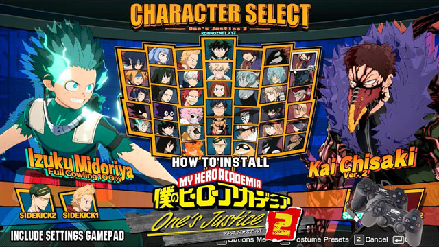 تحميل لعبة Boku no Hero Academia للكمبيوتر