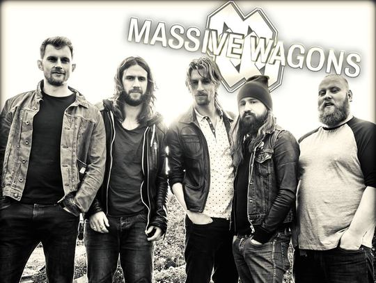 MASSIVE WAGONS - Welcome To The World (2016) inside