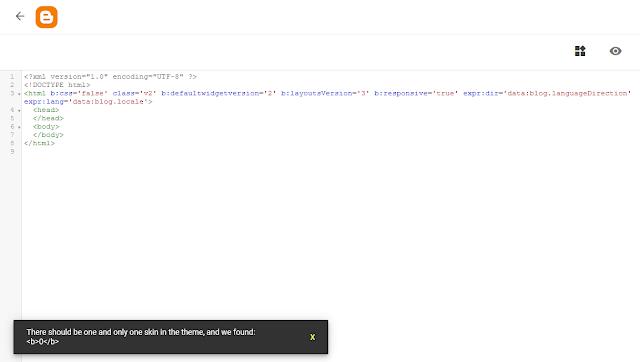 panduan membuat template blog detail dan lengkap