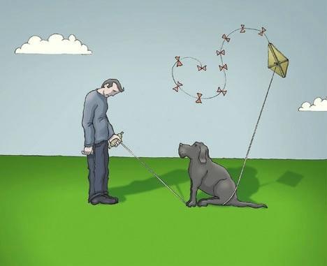 O cachorro preto chamado depressão
