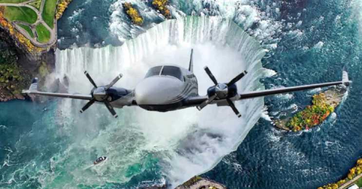 Greater Toronto Airlines, Toronto ve Niagara Şalaleleri'ni birbirine bağlayan uçuşlar gerçekleştiriyor.