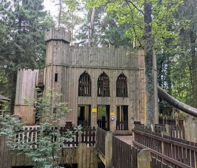 The Best Adventure Playground in the Lake District (Lowther Castle)