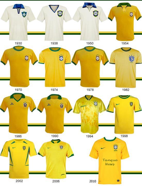 db864d4c1c98b Ai fica a expecitativa de como será a camisa da seleção na copa de 2014 no  Brasil