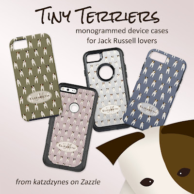 Tiny terriers patterned device cases from katzdzynes on Zazzle