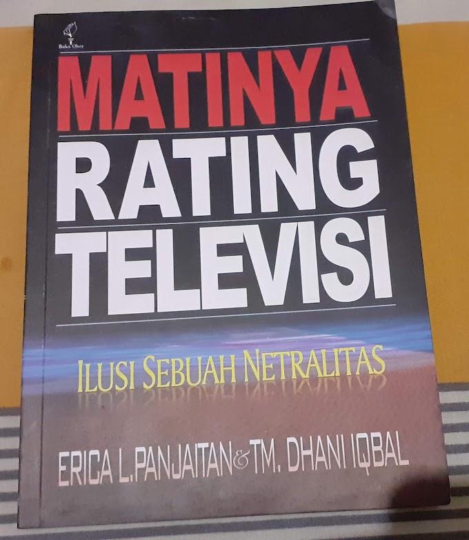 Review Buku Matinya Ratingnya Televisi