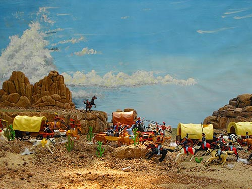 """Trench Runners: Tom Stark's Plastic Passions #2 = Timpo """"overmolded"""