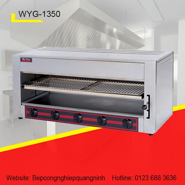 Lò nướng Salamander 5 họng Gas WYG-1350