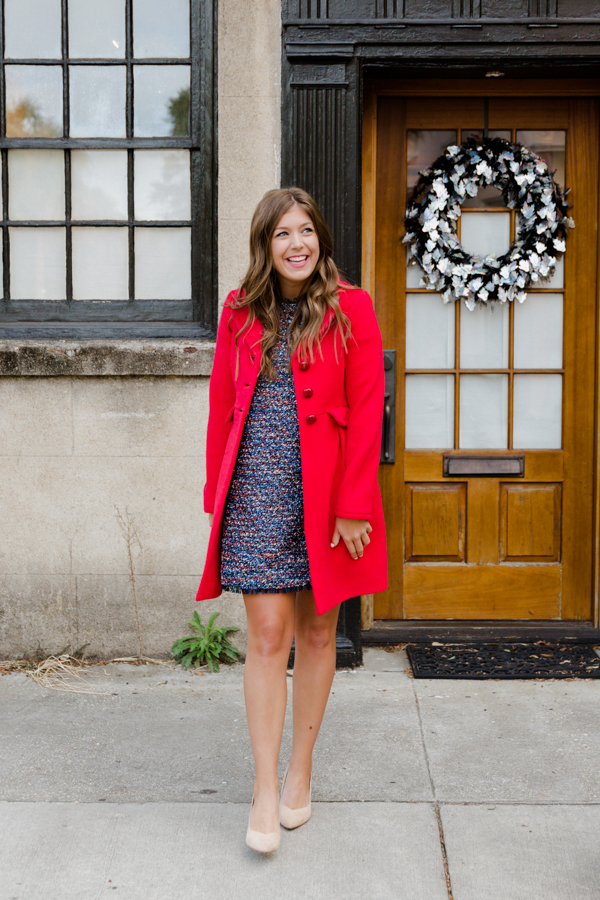 Tweed For The Holidays | Chasing Cinderella