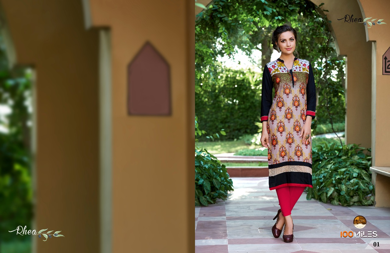 RHEA-New Arrival Designer Cotton Kurti