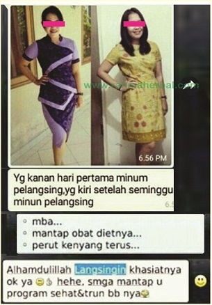 Slimming herbal Manfaat paket pelangsing