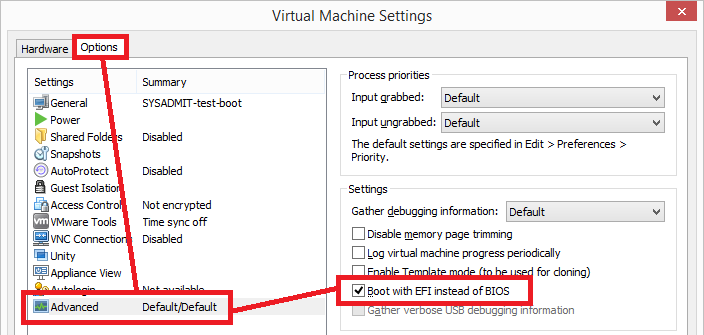 VMWare: Workstation arrancar desde USB | SYSADMIT