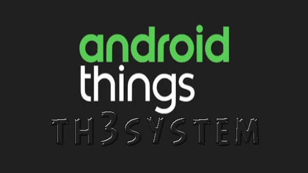 Google Announces New Things Android OS