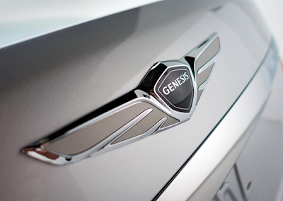 Hyundai's Genesis brand logo badge