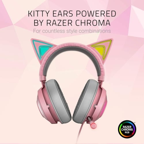 Review Razer Kraken Kitty RGB USB Gaming Headset