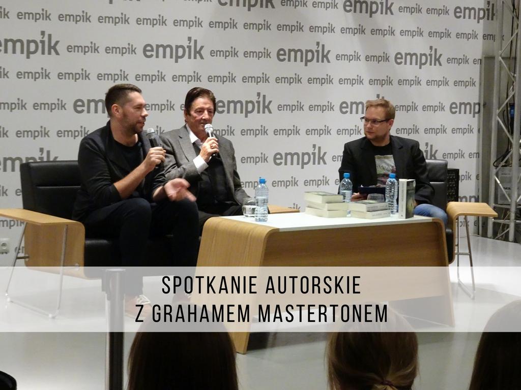 SPOTKANIE AUTORSKIE Z GRAHAMEM MASTERTONEM | FOTORELACJA