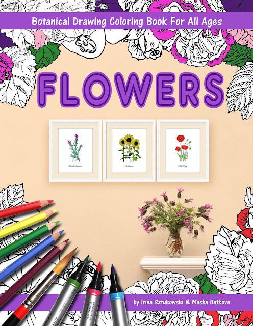 Coloring Book about Flowers