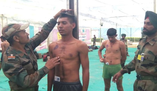 West Kameng Army Rally, Indian Army Rally, Open Bharti Rally