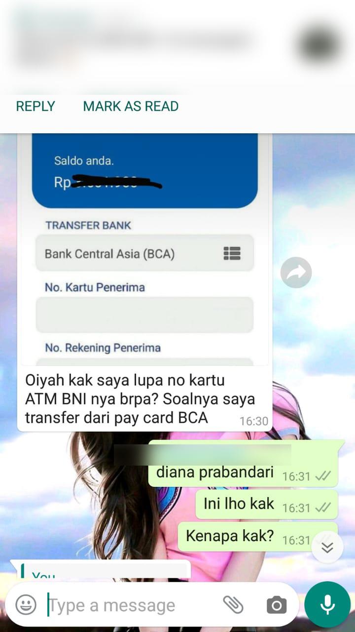 Jemari Go Blog Modus Penipuan Dengan Menggunakan Pay Card Bca