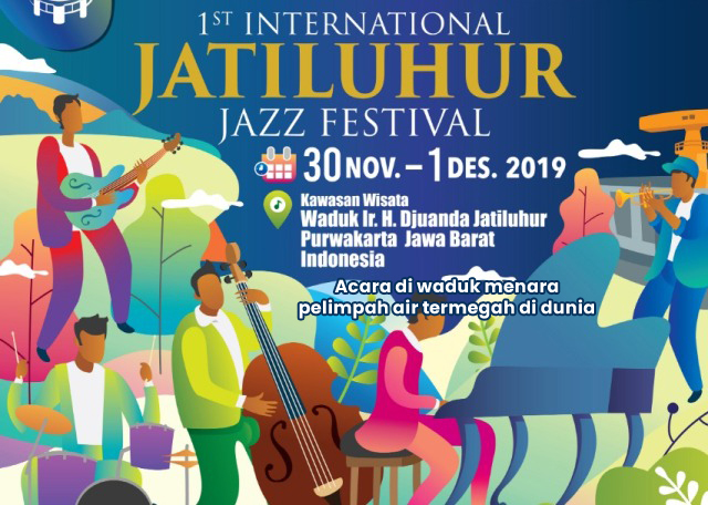 The 1st International Jatiluhur Jazz Festival 2019 Akan Digoyang Via Vallen