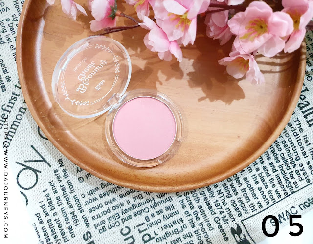 Review Fanbo Precious White Blooming Cheek 05 Sweet Heart