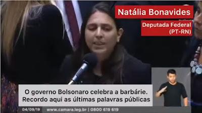 deputada federal Natália Bonavides