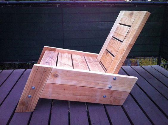Pallet Projects Pallet Idea Low Rise Lounge Chair Made From