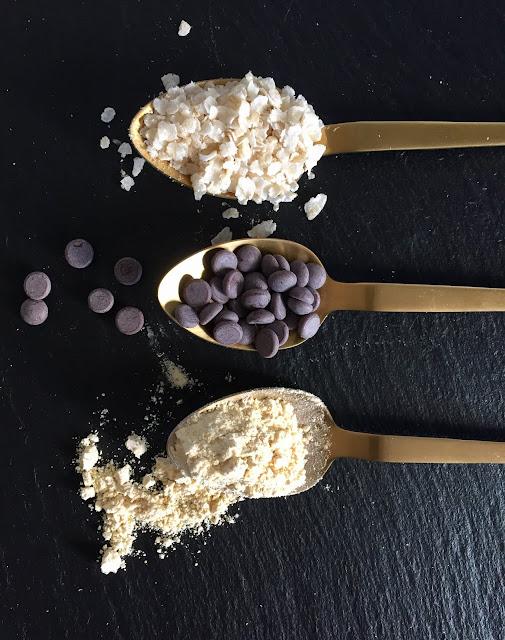 Schoko-Brötchen Rezept glutenfrei & vegan, Bio, Minimalismus: Zubereitung einfach + schnell, Snack ohne Weizen, Schokolade, Kichererbsenmehl, Reisflocken